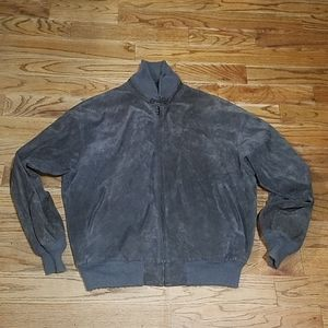 VTG LL Bean sway leather jacket Gray for 4XL